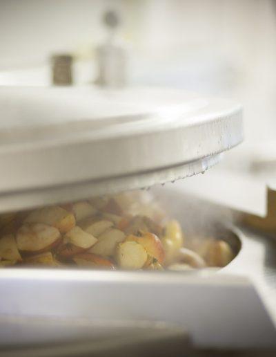 Préparation de soupes artisanales