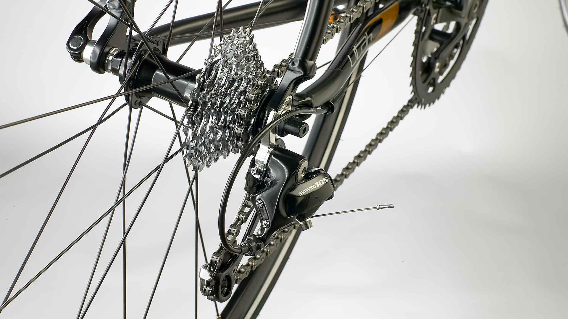 Rapport Annuel retouche vélo avant